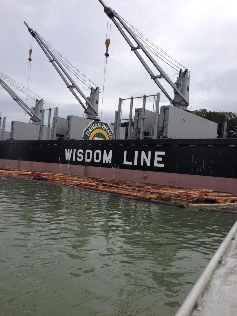 Exports - Log Vessel